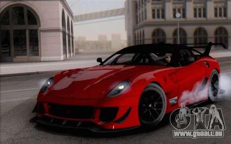 Ferrari 599XX Evolution für GTA San Andreas
