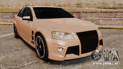 Holden HSV W427 2009 pour GTA 4