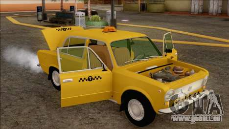VAZ 21011 Taxi für GTA San Andreas Innen