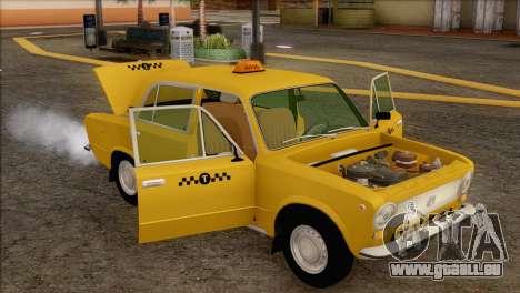 Taxi VAZ 21011 pour GTA San Andreas salon