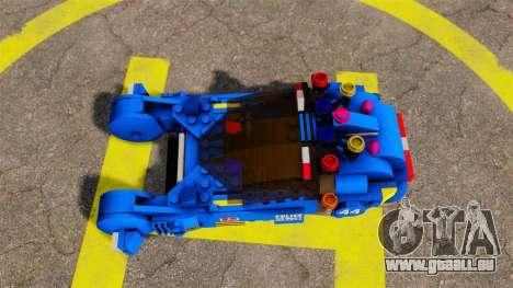 Lego Car Blade Runner Spinner [ELS] für GTA 4 rechte Ansicht