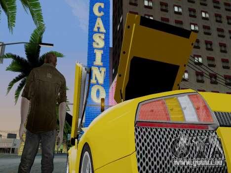 Clay Kaczmarek ACR pour GTA San Andreas deuxième écran