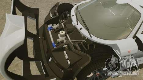 Gumpert Apollo S 2011 pour GTA 4 est une vue de l'intérieur