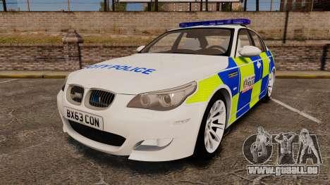 BMW M5 E60 City Of London Police [ELS] für GTA 4