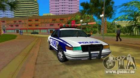 GTA IV Police Cruiser pour GTA Vice City