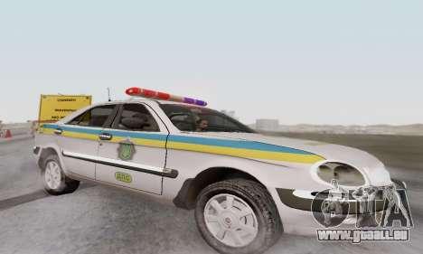 GAZ-3111 Miliciâ Ukraine pour GTA San Andreas laissé vue