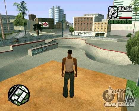 Nouveau HD Skate Park pour GTA San Andreas
