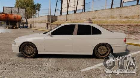 BMW 525i (E39) pour GTA 4 est une gauche