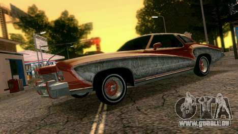 Chevy Monte Carlo Lowrider für GTA Vice City linke Ansicht