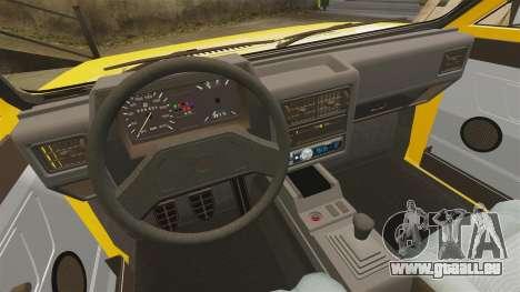 Volkswagen Voyage 1990 pour GTA 4 est un côté