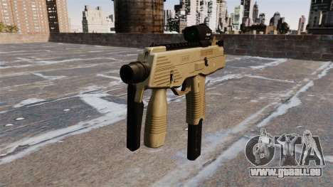 MP9 mitraillette tactique pour GTA 4