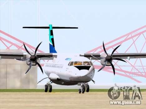 ATR 72-500 WestJet Airlines pour GTA San Andreas laissé vue