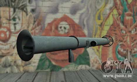 Bazooka pour GTA San Andreas