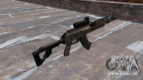 AK-47 tactical pour GTA 4 secondes d'écran