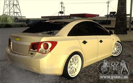 Chevrolet Cruze für GTA San Andreas zurück linke Ansicht