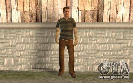 Homme sable pour GTA San Andreas