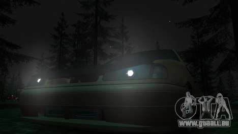 VAZ 2113 für GTA 4 Rückansicht