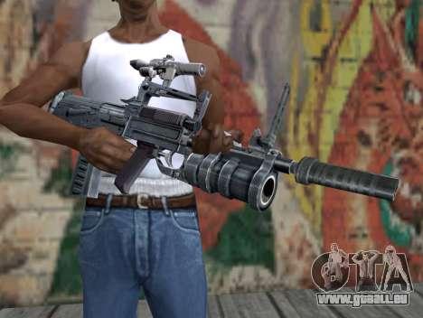 Fusil de S.T.A.L.K.E.R. pour GTA San Andreas troisième écran