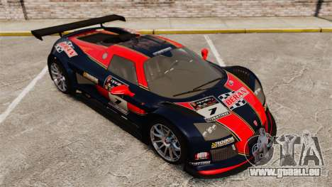 Gumpert Apollo S 2011 für GTA 4 Innen