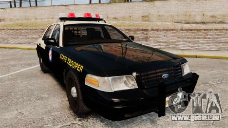 Ford Crown Victoria 1999 Florida Highway Patrol für GTA 4