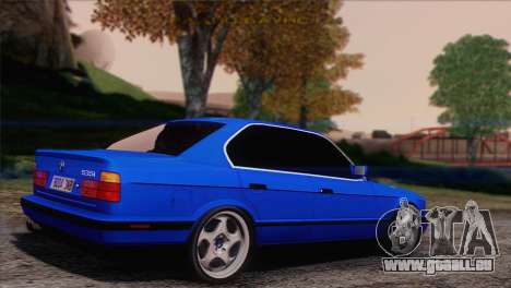 BMW 535i E34 Mafia Style für GTA San Andreas linke Ansicht