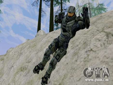 Master Chief für GTA San Andreas sechsten Screenshot