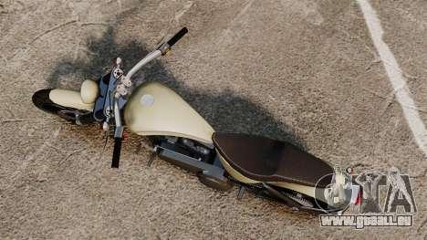 GTA IV TLAD Nightblade pour GTA 4 Vue arrière de la gauche