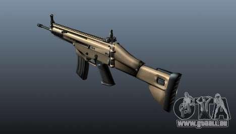 Fusil d'assaut SCAR-L pour GTA 4 secondes d'écran