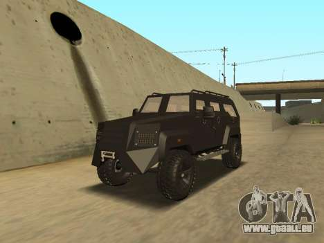 Ford Super Duty Armored für GTA San Andreas