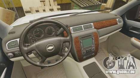Chevrolet Silverado 1500 2010 pour GTA 4 est une vue de l'intérieur