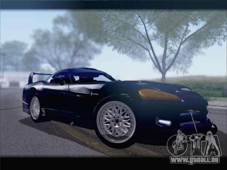 Dodge Viper Competition Coupe pour GTA San Andreas sur la vue arrière gauche
