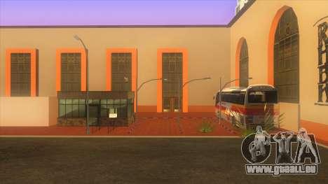 Gare routière, Los Santos pour GTA San Andreas deuxième écran