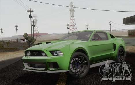 Ford Mustang GT 2013 für GTA San Andreas