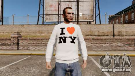 Pull-j'aime New York pour GTA 4