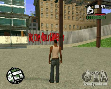 Nouveau HD Skate Park pour GTA San Andreas deuxième écran