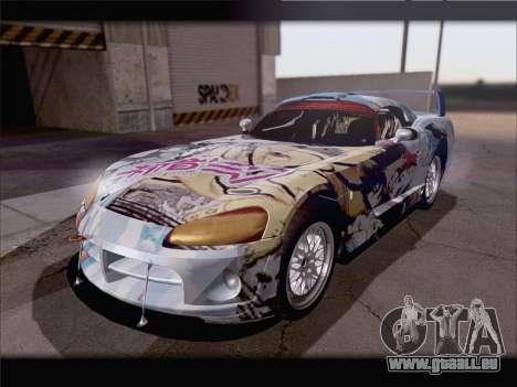 Dodge Viper Competition Coupe pour GTA San Andreas vue de côté
