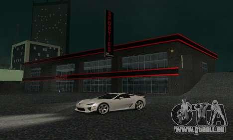 Neuer Showroom in Dorothi für GTA San Andreas fünften Screenshot