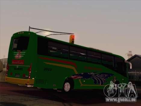 Irizar Mercedes Benz MQ2547 Alabat Liner pour GTA San Andreas vue de dessous