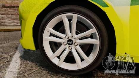 Hyundai i40 Tourer [ELS] London Ambulance für GTA 4 Rückansicht