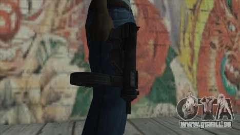 MP5 von Fallout New Vegas für GTA San Andreas dritten Screenshot