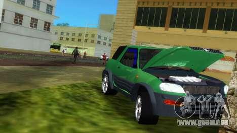 Toyota RAV 4 L 94 Fun Cruiser pour GTA Vice City vue latérale