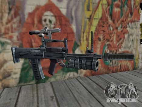Fusil de S.T.A.L.K.E.R. pour GTA San Andreas