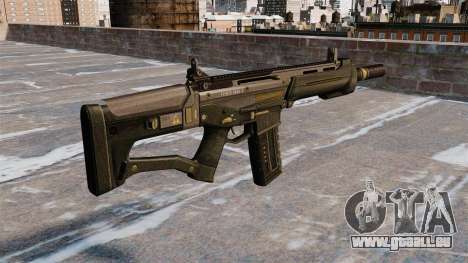Fusil d'assaut SCAR pour GTA 4 secondes d'écran