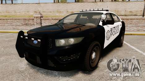 GTA V Vapid Steelport Police Interceptor [ELS] für GTA 4