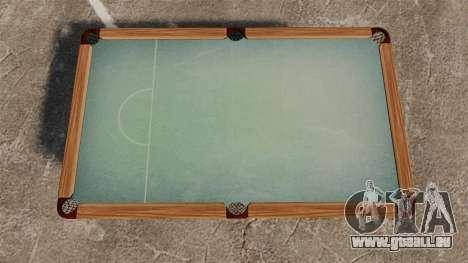 Neue Pool-Tabelle für GTA 4 Sekunden Bildschirm