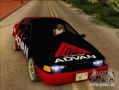Stratum Sedan Sport für GTA San Andreas rechten Ansicht