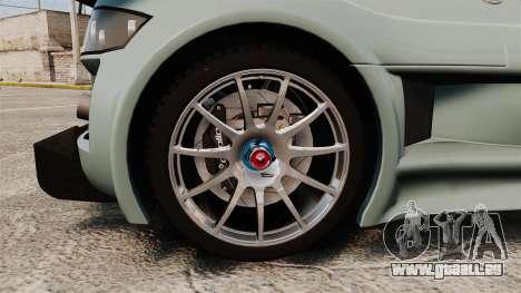 Gumpert Apollo S 2011 pour GTA 4 Vue arrière
