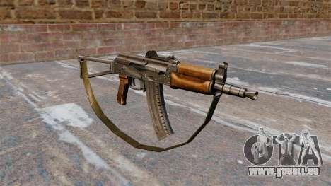 AKS74U automatique avec sangle pour GTA 4