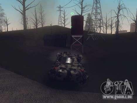 BMP-2 pour GTA San Andreas vue de droite