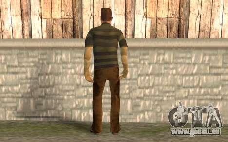 Homme sable pour GTA San Andreas deuxième écran